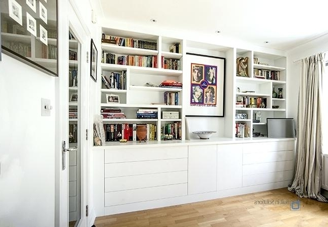 White Cabinet Living Room Storage Furniture Living Room Gallery For Well Known Fitted Living Room Cabinets (View 10 of 15)