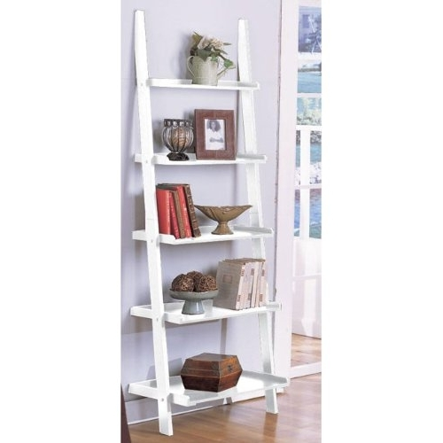Featured Photo of White Ladder Shelf