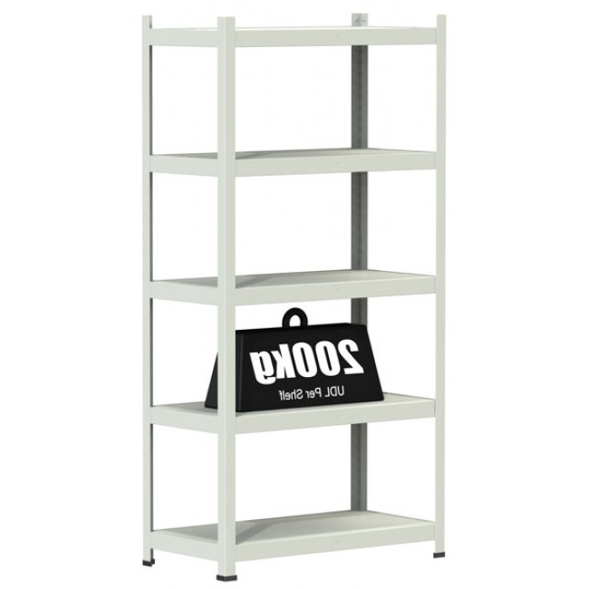 White Shelving Units Intended For Well Known White Office Shelving Units (View 12 of 15)