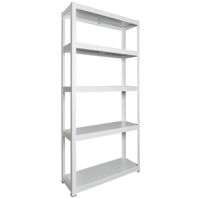 White Shelving Units With Favorite Industrial Shelving Unit Industrial Office Furniture (View 8 of 15)