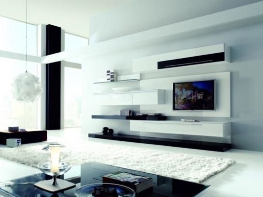 White Wall Units For Living Room – Wall Units Design Ideas With Regard To Well Liked Wall Units For Living Room (View 15 of 15)