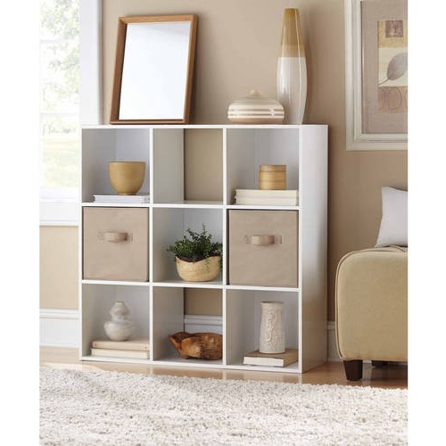 White Walmart Bookcases Intended For Well Known Bookcases – Walmart (View 13 of 15)