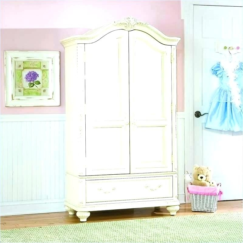 White Wardrobes Armoire With Regard To Most Recent Bedroom Armoire Wardrobe – Janettavakoliauthor (View 11 of 15)