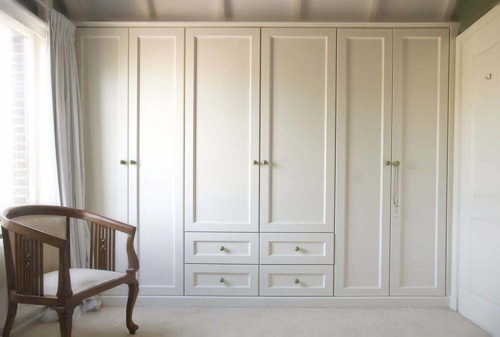 White Wardrobes Armoire With Well Known Closet Cabinets (View 10 of 15)