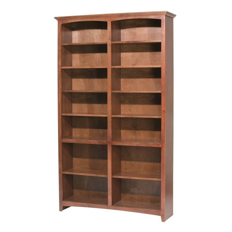 "Whittier Wood Mckenzie Bookcase Collection – 48"" Wide Regarding Latest 36 Inch Wide Bookcases (View 4 of 15)"