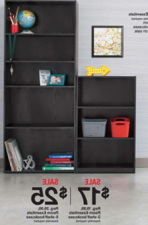 Featured Photo of Room Essentials 5 Shelf Bookcases