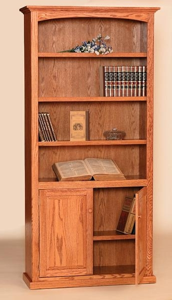 Featured Photo of Bookcases With Doors On Bottom