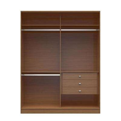 Widely Used Armoires & Wardrobes – Bedroom Furniture – The Home Depot Regarding Wardrobe With Shelves And Drawers (View 15 of 15)