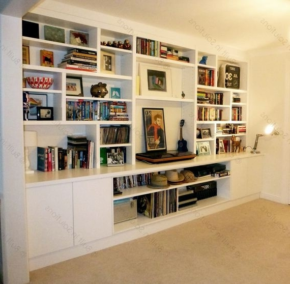 Widely Used Built In Cabinets, Alcove Cupboards & Built In Cupboards – Another For Bookcases With Cupboards (View 12 of 15)