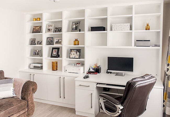 Widely Used Built In Study Furniture Pertaining To Fitted Home Study Furniture (View 15 of 15)