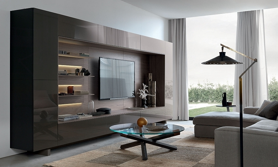 Widely Used Contemporary Wall Units For Living Room Contemporary Wall For Modern Wall Units (View 10 of 15)