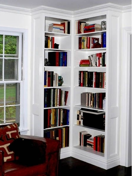 Widely Used Corner Bookcases Within Custom Made Built In Corner Bookcasesstuart Home Improvement (View 15 of 15)