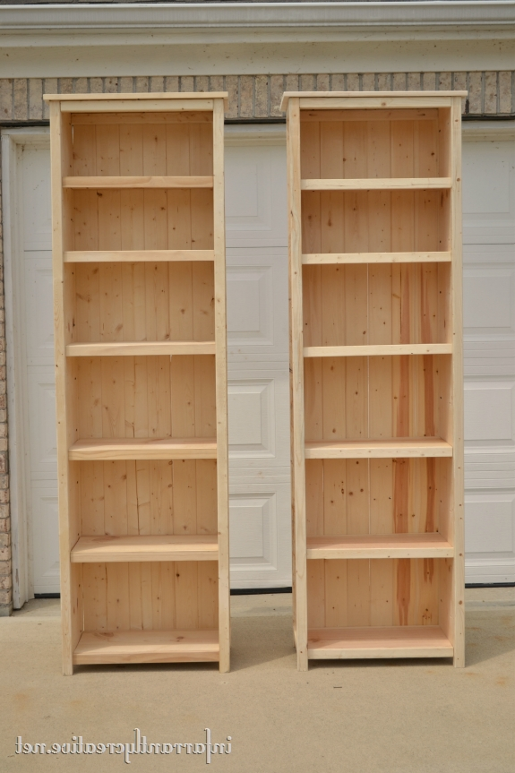Widely Used Diy Bookcases In How To Make Bookshelves (View 13 of 15)