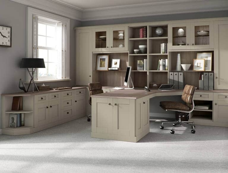 Widely Used Fitted Office Furniture Intended For Fitted Home Office Furniture (View 3 of 15)