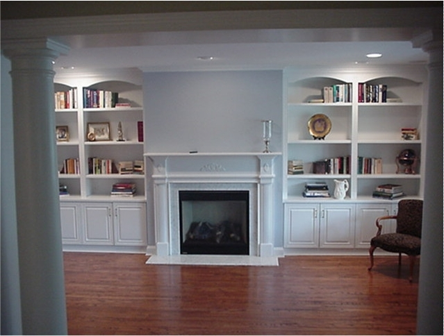 Widely Used Fitted Wall Units Living Room Inside White Wall Units For Living Room Ashley Furniture Curio Cabinets (View 15 of 15)