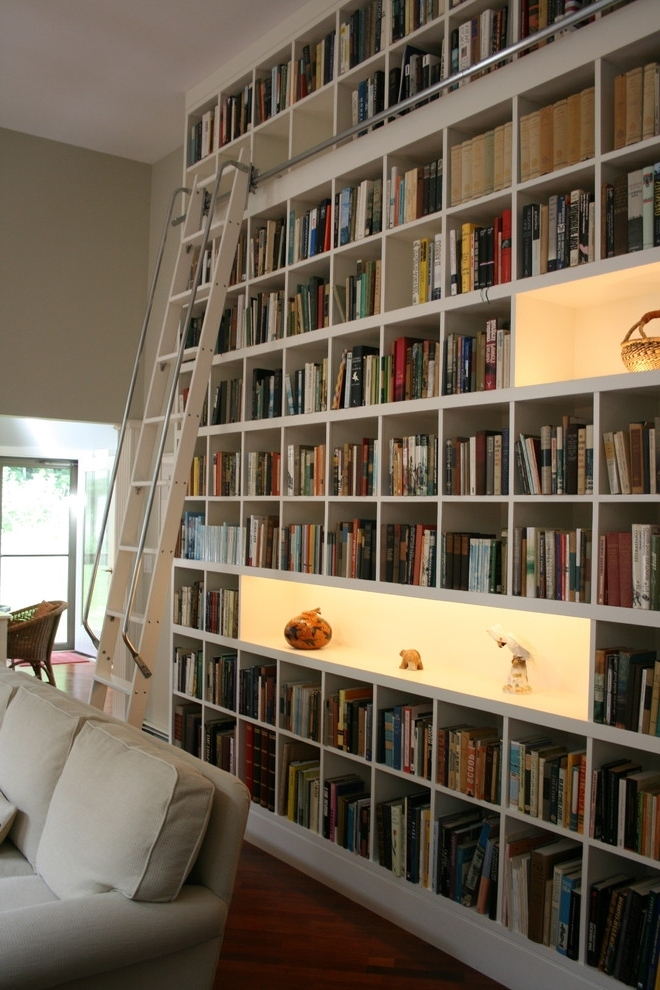 Widely Used Home Library Shelving Systems For 37 Awesome Ikea Billy Bookcases Ideas For Your Home – Digsdigs (View 14 of 15)