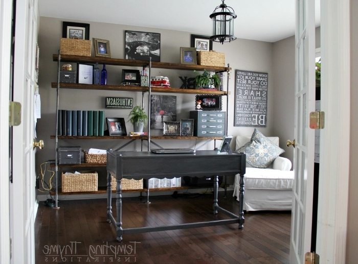 Widely Used Industrial Bookcases Pertaining To How To Build Industrial Bookcases (View 13 of 15)