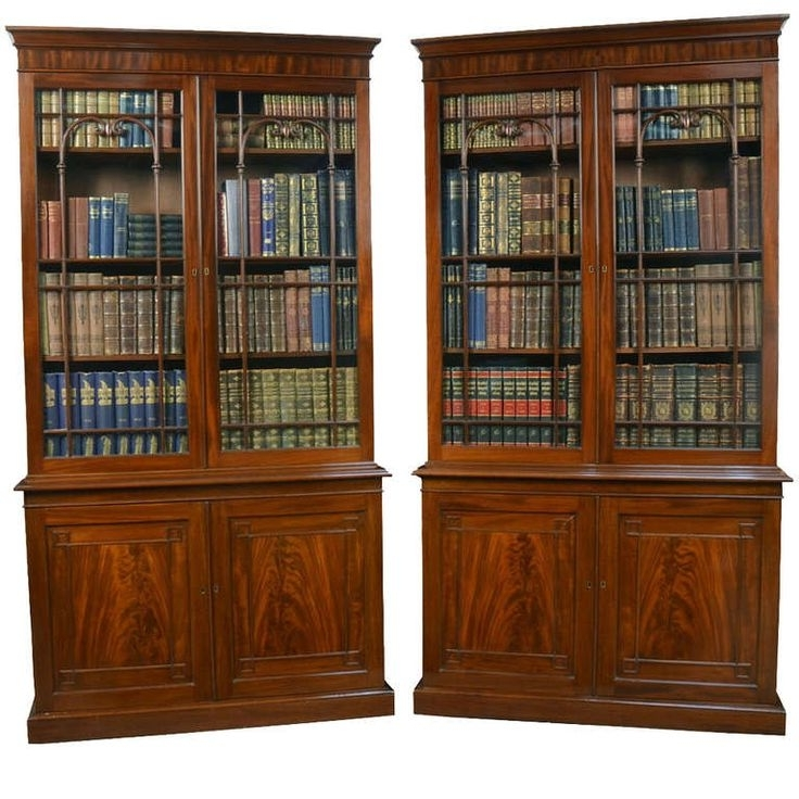 Widely Used Mahogany Bookcases Regarding Best 25+ Mahogany Bookcase Ideas On Pinterest (View 15 of 15)