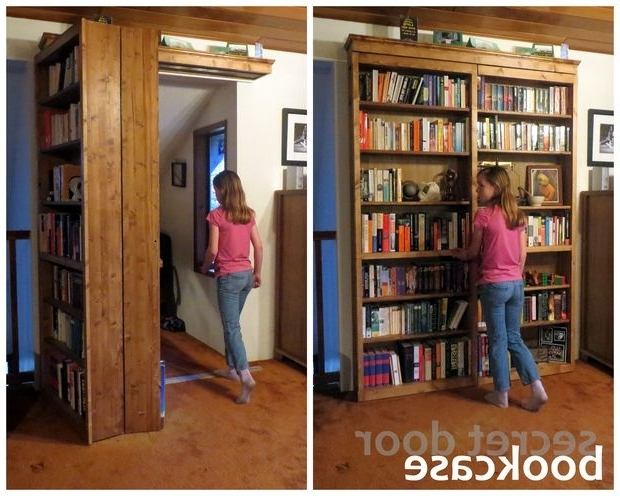 Widely Used Secret Door Bookcase All Bookcase Door Kit (View 15 of 15)