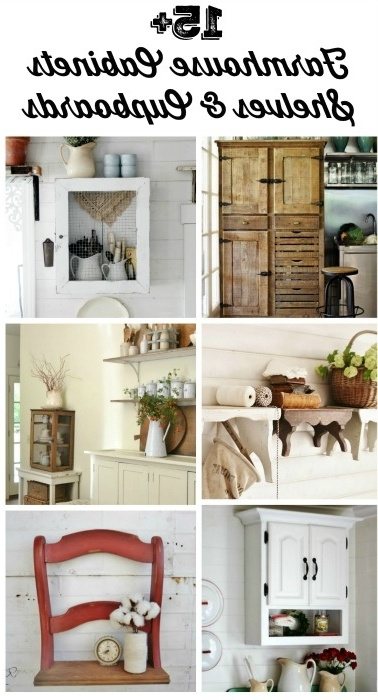 Widely Used Shelves And Cupboards With Regard To Farmhouse Friday – Farmhouse Cabinets, Cupboards And Shelves (View 15 of 15)