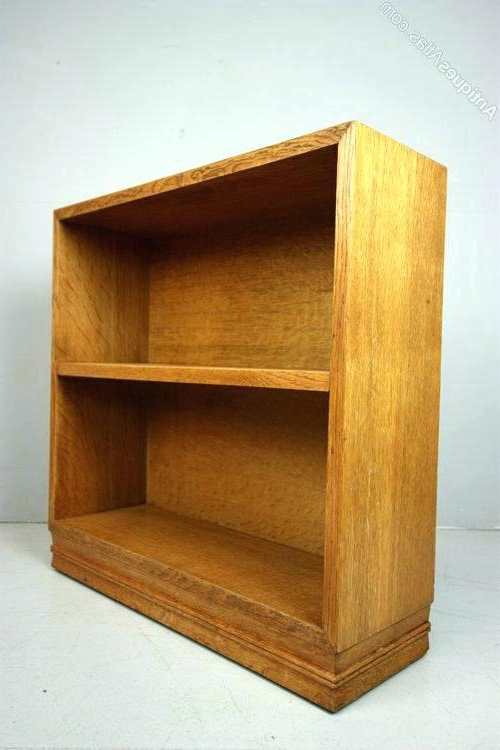 Widely Used Small Oak Bookcases Two Tall Narrow Bookshelves Small Oak With Intended For Very Small Bookcases (View 14 of 15)