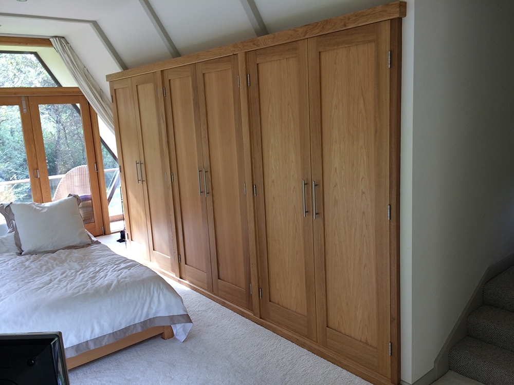 Widely Used Solid Wood Fitted Wardrobes Doors For Fitted Wardrobes With Oak Doors – The West Sussex Antique Timber (View 15 of 15)