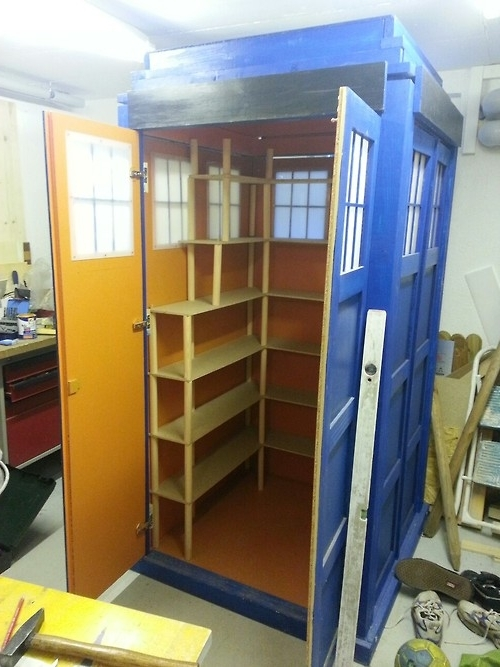 Widely Used Tardis Bookshelf Enclosure (View 15 of 15)