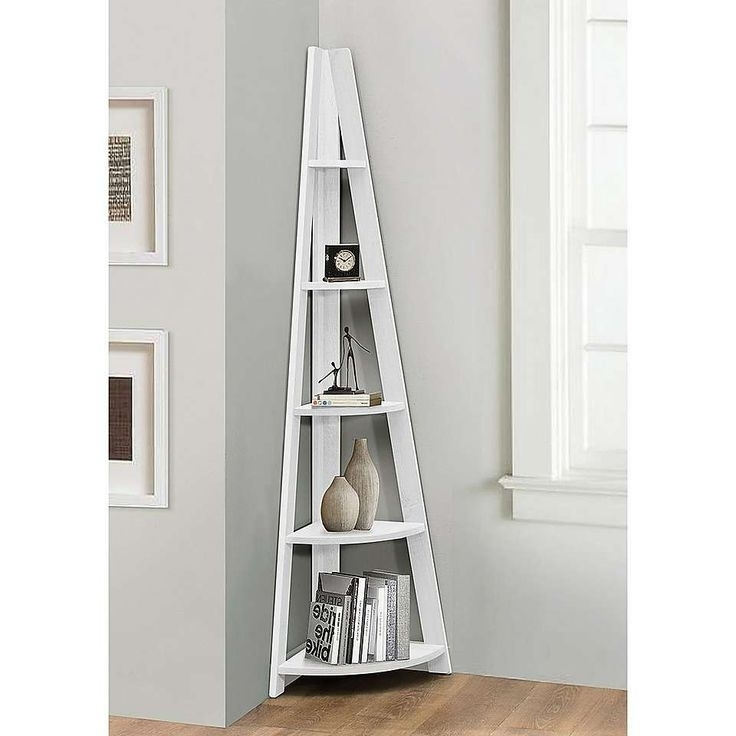 Widely Used White Corner Bookcases Pertaining To The 25+ Best White Corner Bookcase Ideas On Pinterest (View 15 of 15)