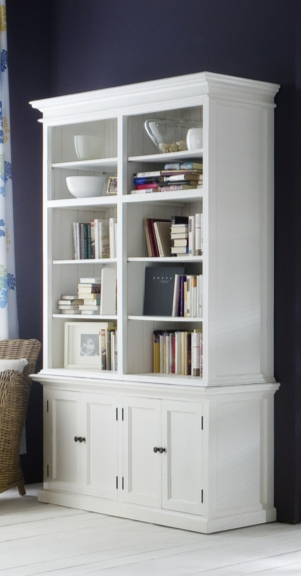 Widely Used White Library Bookcases Pertaining To 7 Great Bookcases For Your Home Library – Cute Furniture (View 15 of 15)