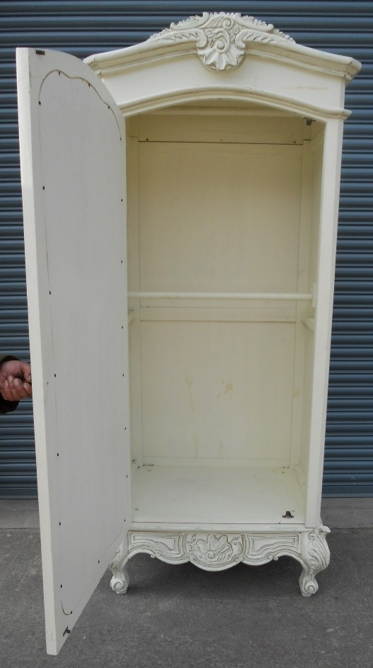 Widely Used White Wardrobes Armoire Within Stylish Armoire White Wardrobe (View 2 of 15)