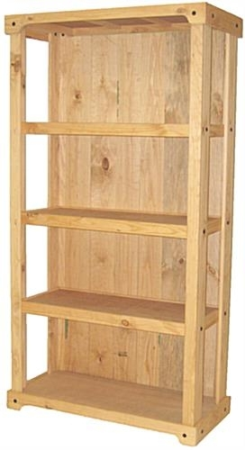 Wood Shelving Stand (View 12 of 15)
