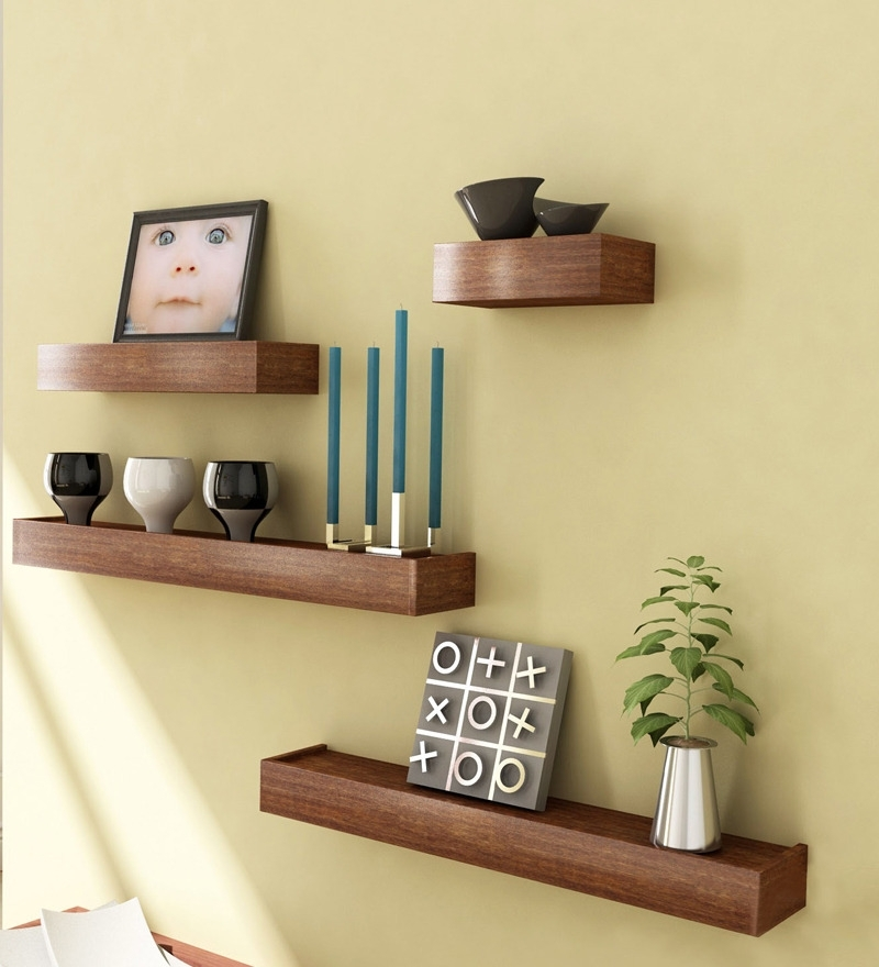 Wood Wall Shelves Designs • Recous Regarding Famous Wooden Wall Shelves (View 15 of 15)