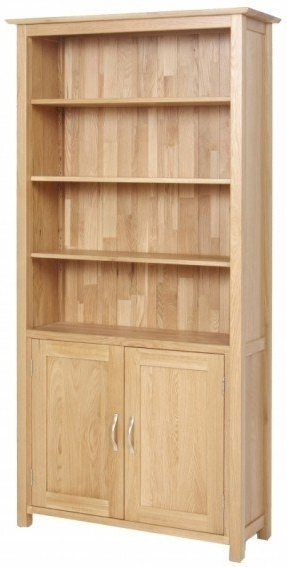Wooden Bookcases Pertaining To Most Recently Released Wooden Bookcases With Doors – Foter (View 2 of 15)