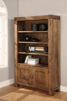 Wooden Bookcases With Doors – Foter Throughout Newest Wooden Bookcases (View 14 of 15)