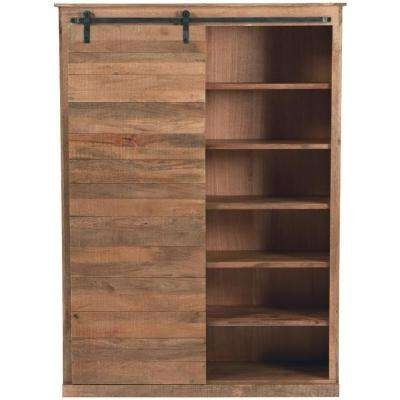 Wooden Bookshelves Intended For Most Current Wood – Bookcases – Home Office Furniture – The Home Depot (View 11 of 15)