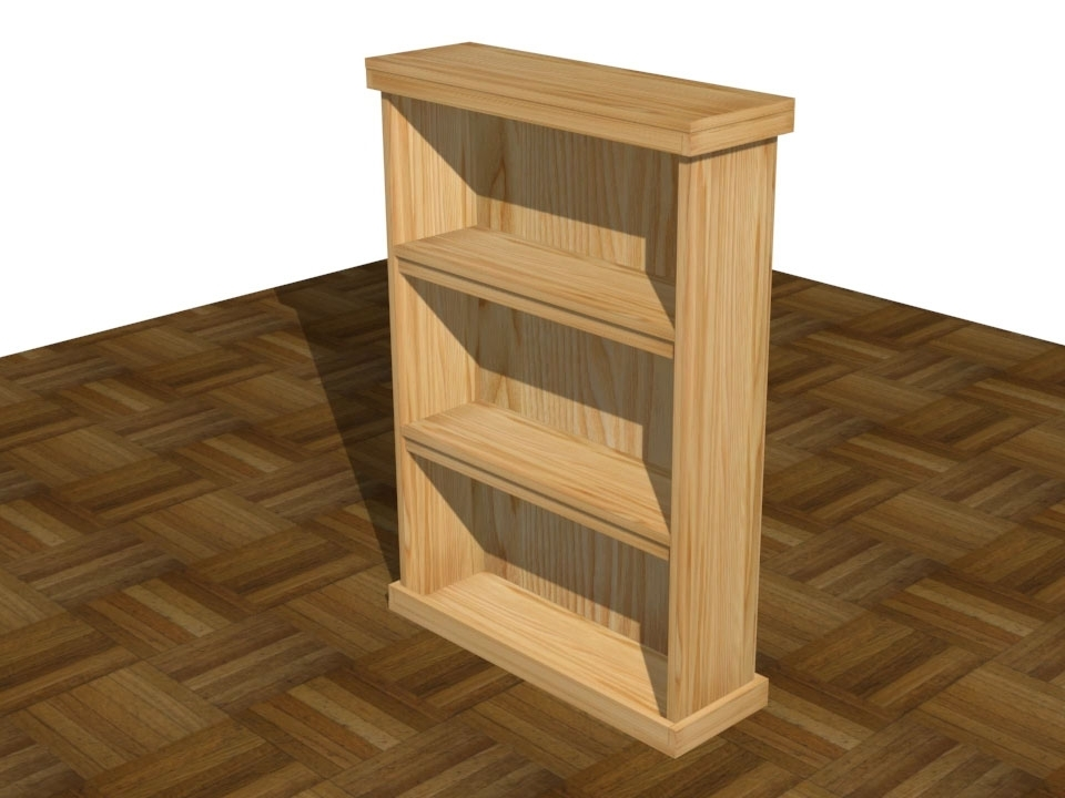 Wooden Bookshelves Within Most Recent How To Build Wooden Bookshelves: 7 Steps (with Pictures) – Wikihow (View 2 of 15)