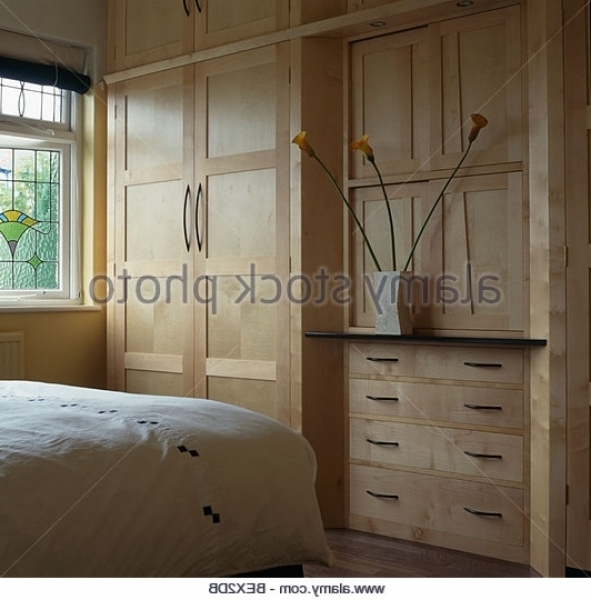 Wooden Fitted Wardrobes (View 2 of 15)