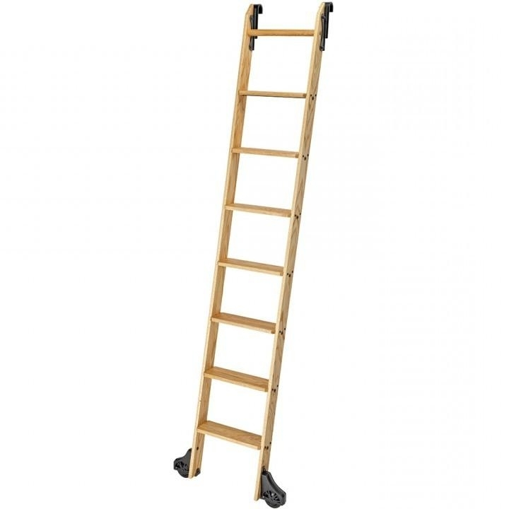 Featured Photo of Wooden Library Ladders