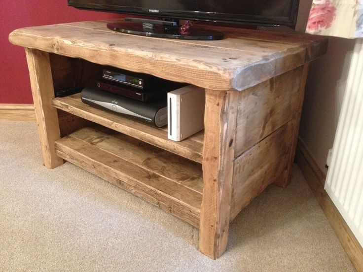 Wooden Tv Cabinets With Regard To Handmade Tv Unit (View 15 of 15)