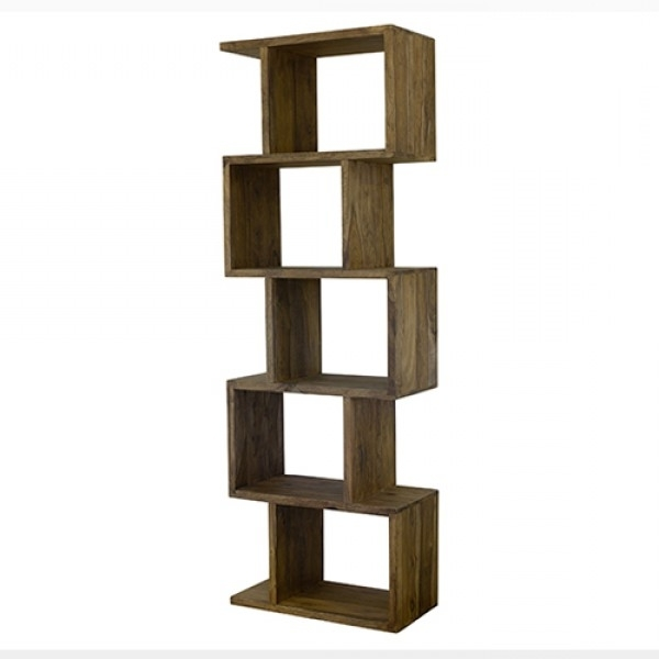 Zig Zag Bookcases With Regard To Most Up To Date Zig Zag Bookshelf (View 14 of 15)