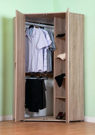 1 Door Mirrored Wardrobes For Recent Wardrobes ~ White Mirrored Corner Wardrobe Cheval 1 Door Mirrored (View 1 of 15)