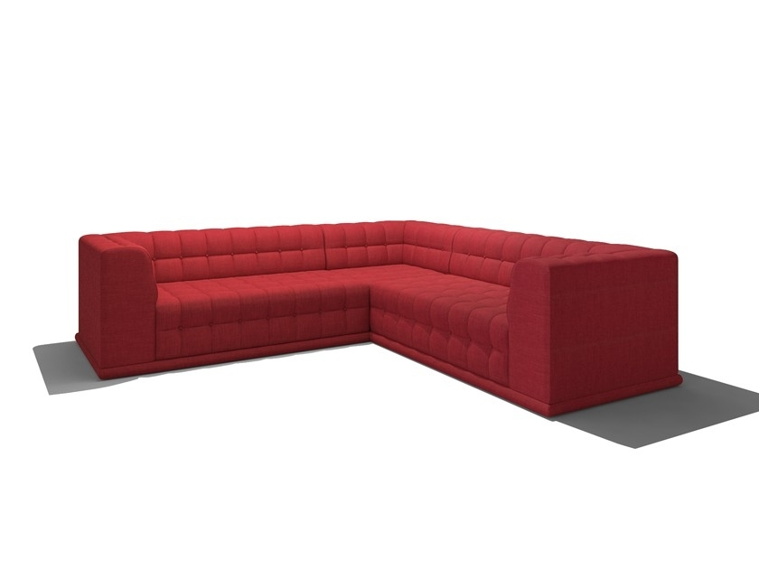 "102X102 Sectional Sofas For Best And Newest Bump Bump 102"" X 102"" Corner Sectional – Truemodern™ (Gallery 6 of 10)"