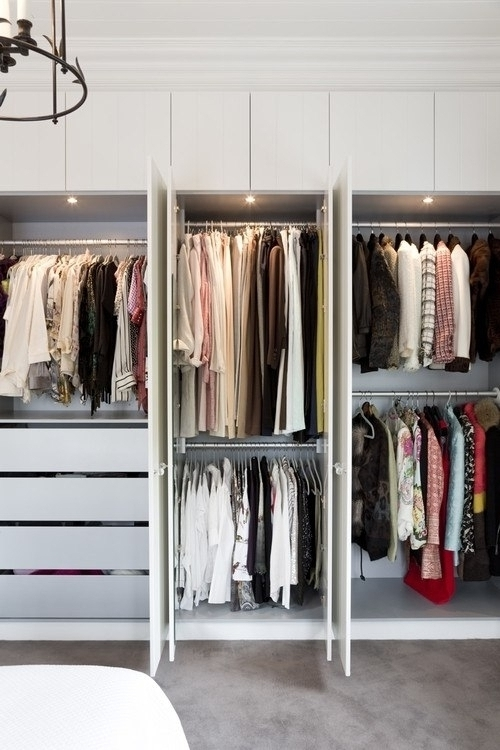 15 Photos Double Rail Wardrobe Regarding Most Recently Released Double Rail Wardrobes (Gallery 1 of 15)
