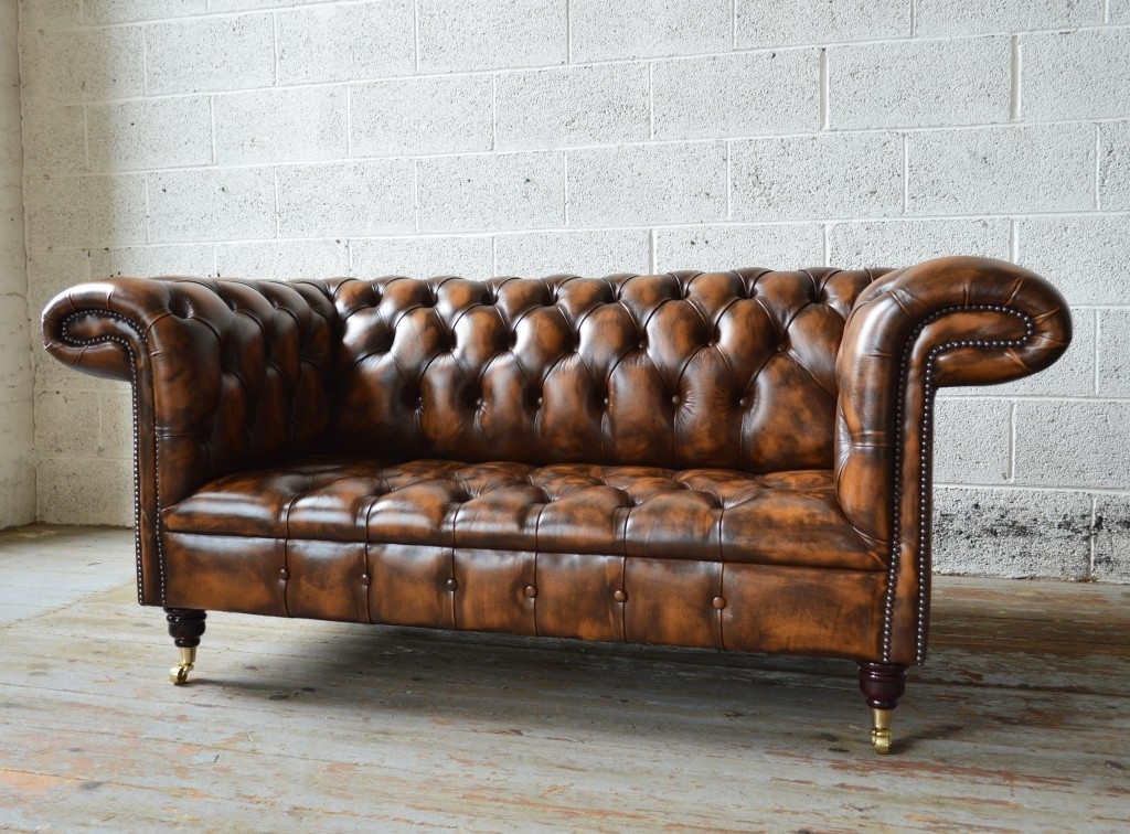 1857 Leather Chesterfield Sofa (View 1 of 10)