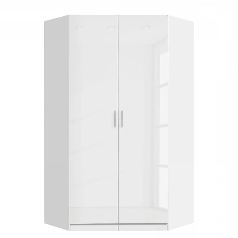 2 Door Corner Wardrobes With Regard To Current White Corner Wardrobes, German Quality Bedroom Furniture (View 2 of 15)