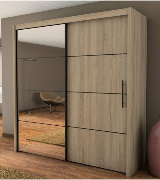 Featured Photo of Wardrobes With 2 Sliding Doors
