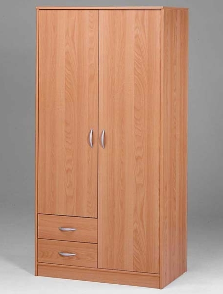 2 Door Wardrobes Online At Best Prices (View 1 of 15)