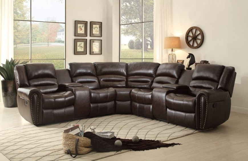 2 Seat Sectional Sofas With Well Known Top 10 Best Reclining Sofas (2018) (View 3 of 10)