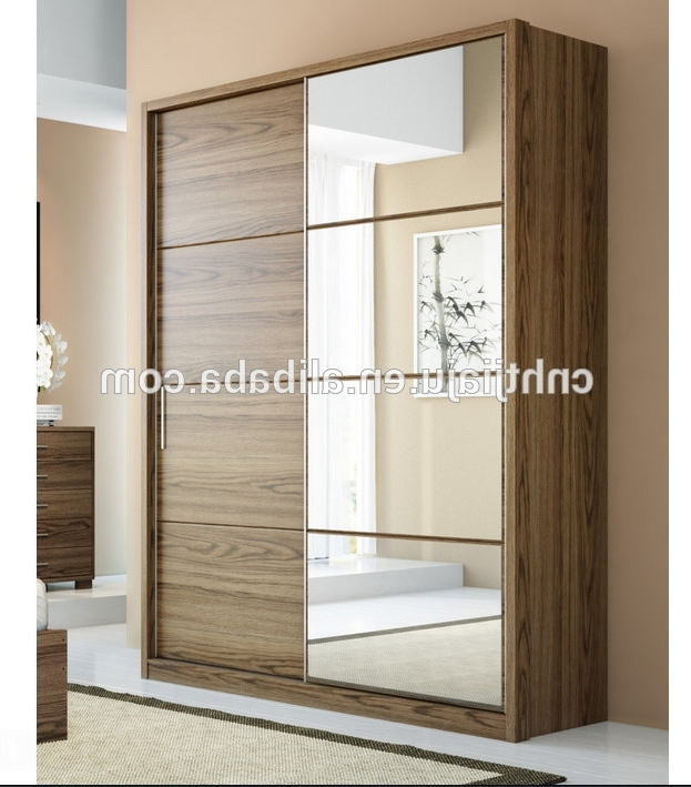2 Sliding Door Moving Smoothly Wardrobe /fitting Sliding Door Intended For Well Liked 2 Sliding Door Wardrobes (View 2 of 15)