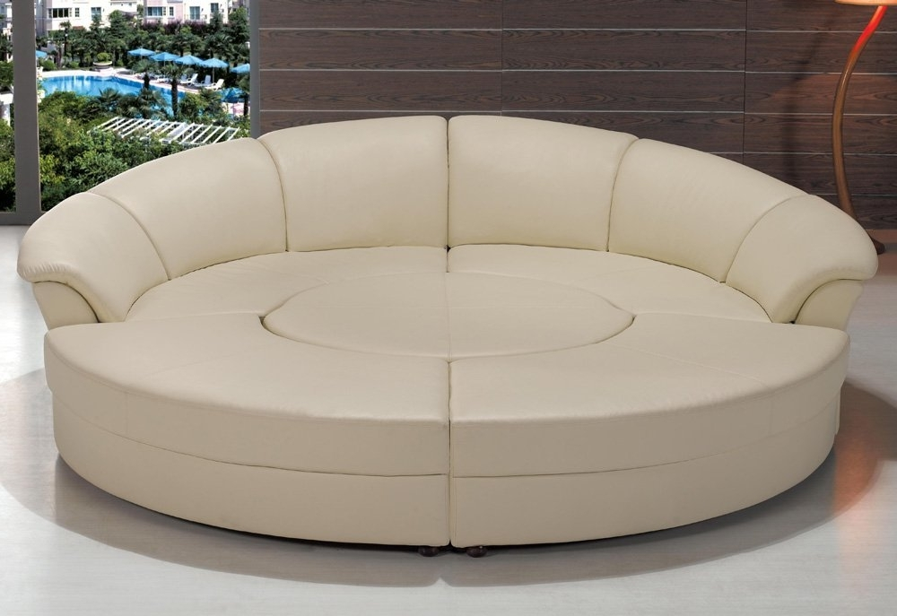 2017 Amazon: Modern Circle Sectional Sofa Set With Table – Off For Circle Sofas (View 1 of 10)